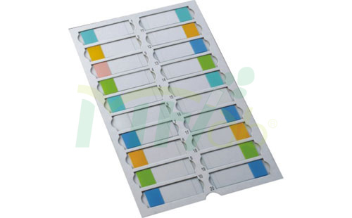 Slides Trays for 20 pieces Slides with dividers